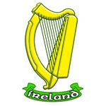 Irish Harp for St. Patrick's Day