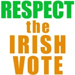 Respect the Irish Vote Tees and Buttons