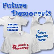 Democratic and Democrat Babies and Kids