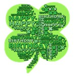 Happy Birthday Giant Shamrock Tshirts