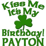 Personalized for Payton's Birthday