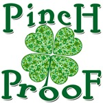 Pinch Proof with Shamrock St. Paddy's Day