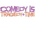 Comedy is tragedy + time