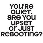 Rebooting?