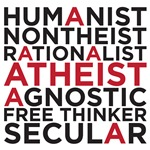 humanist atheist  secular free thinker rationalist
