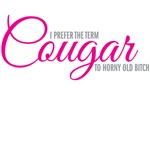 I prefer the term Cougar