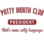 Potty Mouth Club President