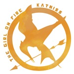 Katniss, The Girl on Fire Pin