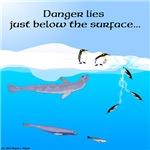 Leopard Seal and Penguins in Danger