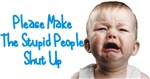 Tell people to shut up