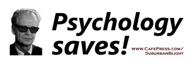 Psychology Saves!