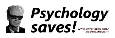 Psychology Saves!