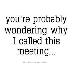 You're Probably Wondering
