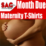 Maternity T-Shirts Due Months