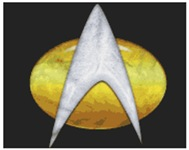 Star Trek Classic Badge Insignia