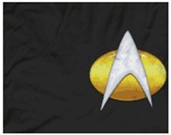 Star Trek Insignia Badge Chest