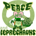 PEACE LOVE and LEPRECHAUNS