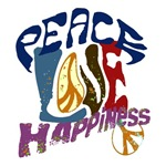 Peace Love and Happiness #P3
