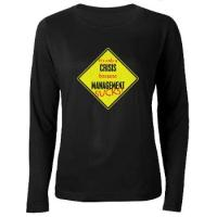 Crisis Management Women's Long Sleeve Shirts/Sweat