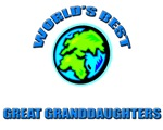 World's Best GREAT GRANDDAUGHTERS