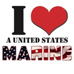 I Love a US Marine