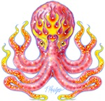 Fire Octopus