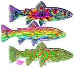 Hot Rod and Tie Dye Trout