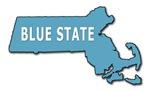 Massachusetts Blue State T-shirts