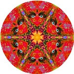 MANDALA ART: RED MAN-DALA
