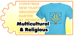 <B>MULTICULTURAL AND<BR>RELIGIOUS</B>