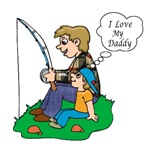 FATHER'S DAY: FISHING T-shirts & Gifts