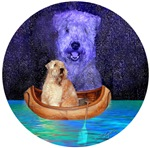 WHEATEN TERRIER: MIDNIGHT CANOE RIDE