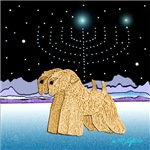 WHEATEN TERRIER: WHEATENS AT CHANUKAH