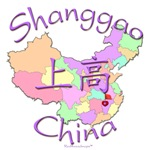 Shanggao Color Map, China