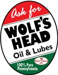 Vintage Wolf's Head Oil sign reproductions