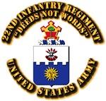 COA - 22nd Infantry Regiment