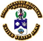 COA - 23rd Infantry Regiment