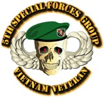 5th Special Forces Group - Skull
