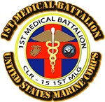 USMC - 1st Medical Battalion with Text