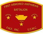 USMC - 1st Armored Amphibian Battalion