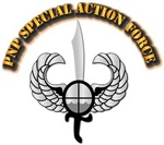 PNP Special Action Force Badge with Text