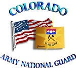 COLORADO ARNG with Flag