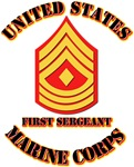 USMC - 1stSgt with Text