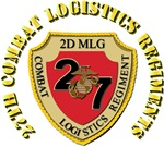 USMC - 27th Combat Logistics Regiment with Text