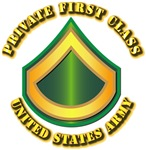 Army - Private First Class w Text