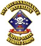 USMC - 1st Reconnaissance Battalion