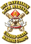 USMC - 1st Battalion - 14th Marines