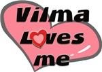 vilma loves me