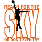 Basketball-Reach for the Sky T-Shirts and Gifts
