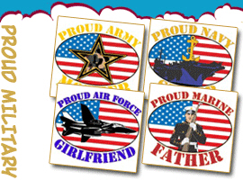 Proud Military T-shirts and gifts